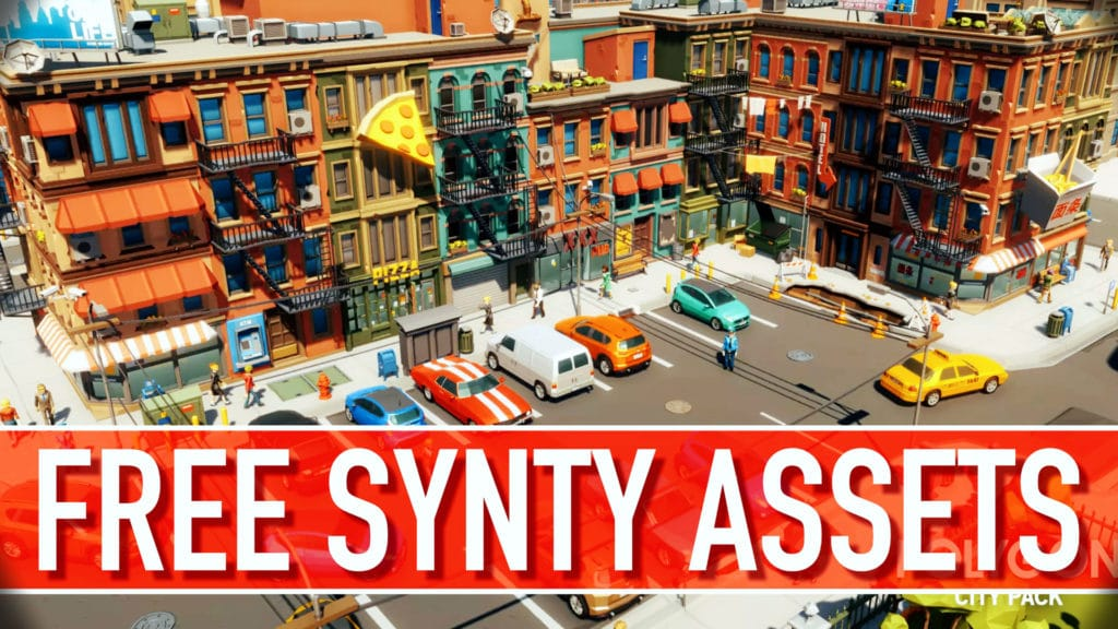 Free Synty Assets on the Unity Asset Store