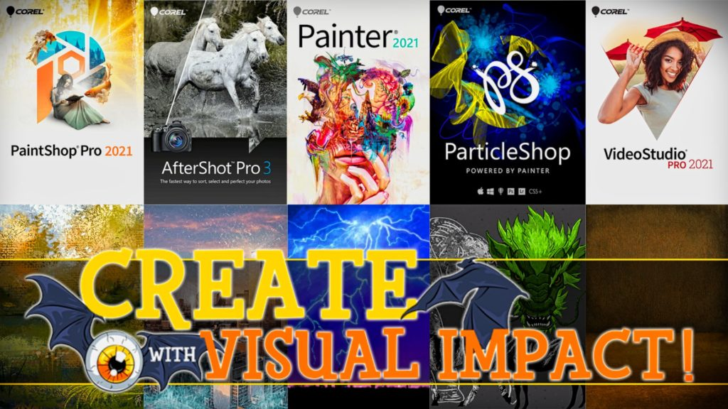 Corel Painter 2021 Create with Visual Impact Humble Bundle