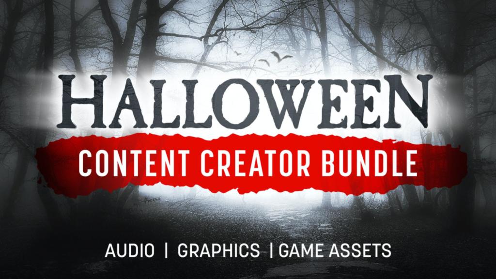 Halloween Content Creator Bundle on Fanatical