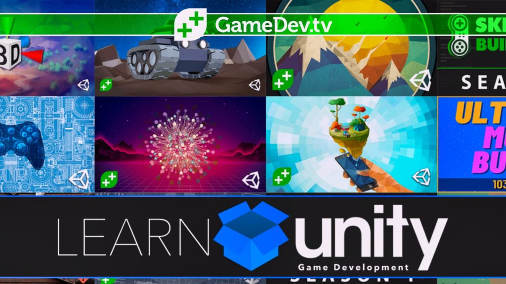 Learn Unity Game Development with GameDev.tv Humble Bundle