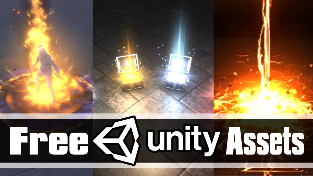 3 Free Assets Unity Asset Store Particle Effects