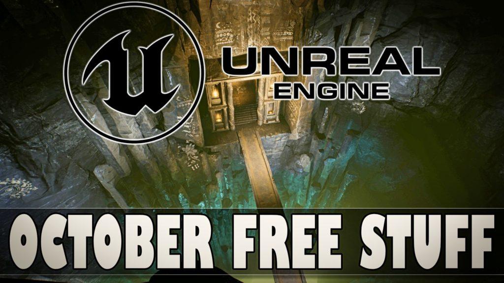 Unreal Engine October 2021 Free Marketplace Asset Giveaway